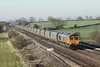 27 March 2012 :: 66730 approaching Colton Junction with 4N36. empty coal from Drax to Tyne Dock