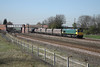 27 March 2012 :: 66740 at Burton Salmon with empty coal from Ferrybridge to Immingham