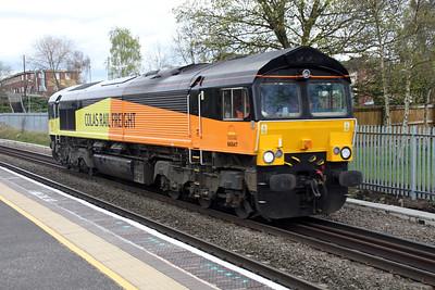 66847  1602/0z58 Burton-Washwood Heath