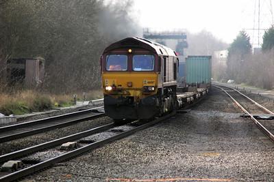 66017 1453/4m66 Southampton-Birch Coppice.