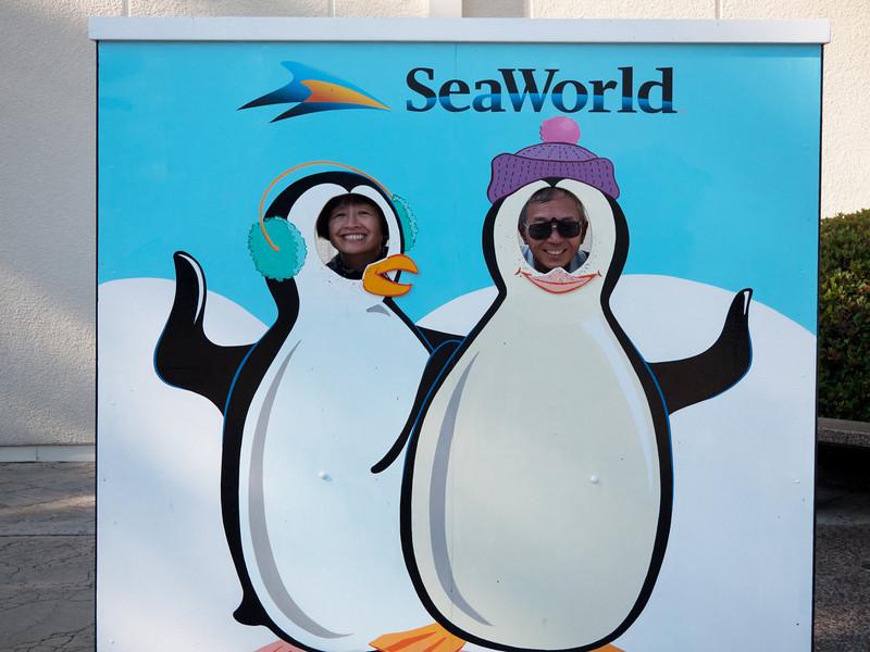 mum dad seaworld