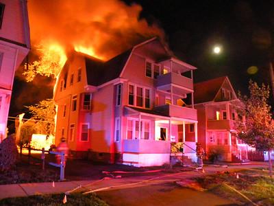 West Springfield, MA 3rd alarm 41-43 Fairview Avenue 6/30/12