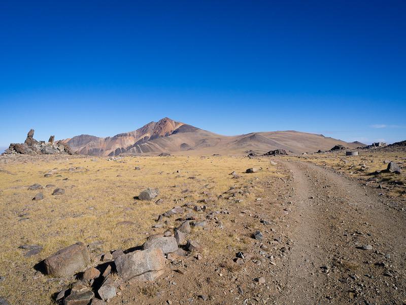 The road to White Mountain