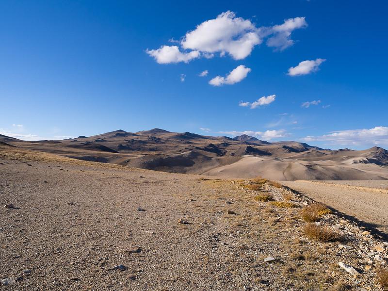 North toward White Mountain