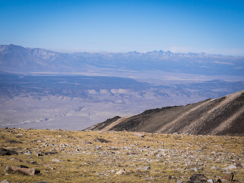 Owens Valley and the Minarets