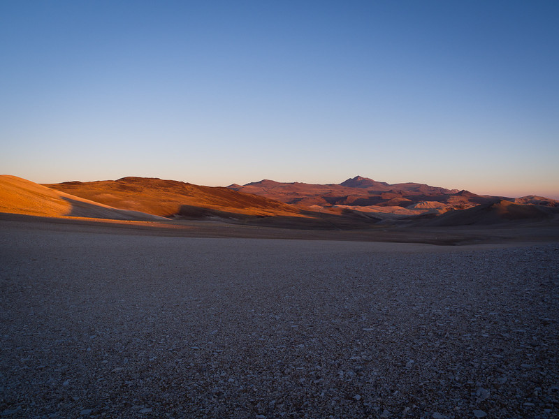 Morning south of White Mountain