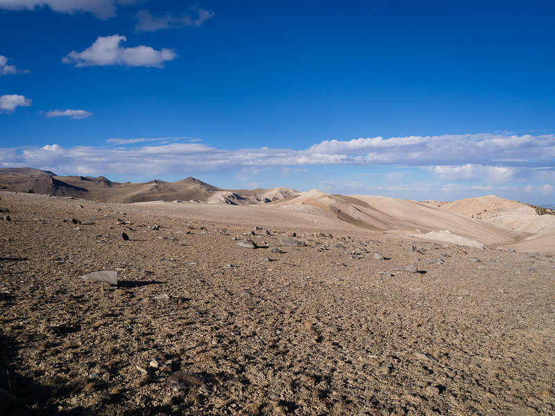 Chalky slopes