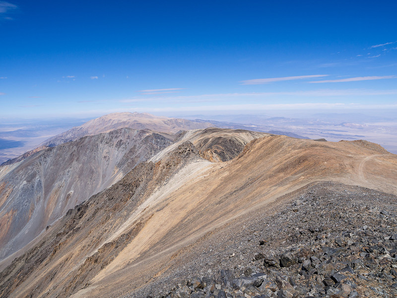 Main ridge north