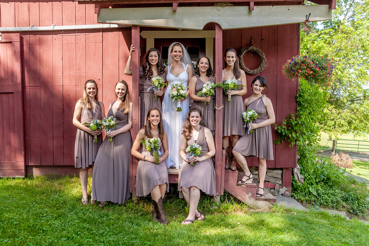 Farm Wedding, Hamilton, NY, Photographers