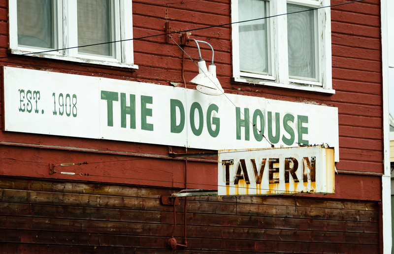 "Today I learned that ""The Dog House"" is a bar on Whidbey Island.  Getting sent there seems much less threatening now."