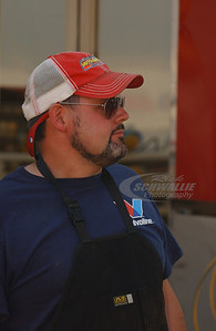 Steve Francis Crew Chief - Lance Wright