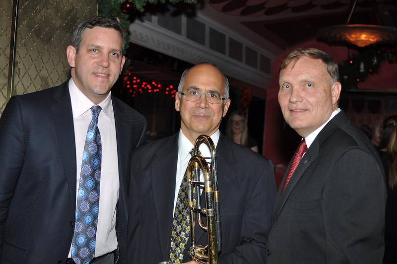 Matthew VanBesien, and NYP Musicians Joseph Alessi and Philip Smith