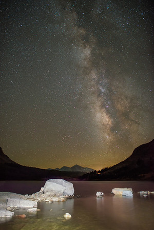 The Milky Way over Tioga Lake