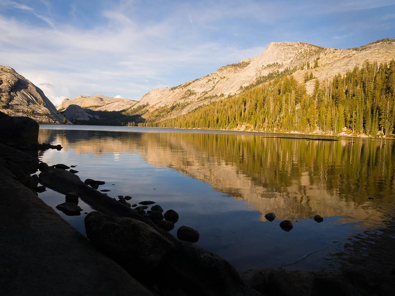 Tenaya Peak and lake