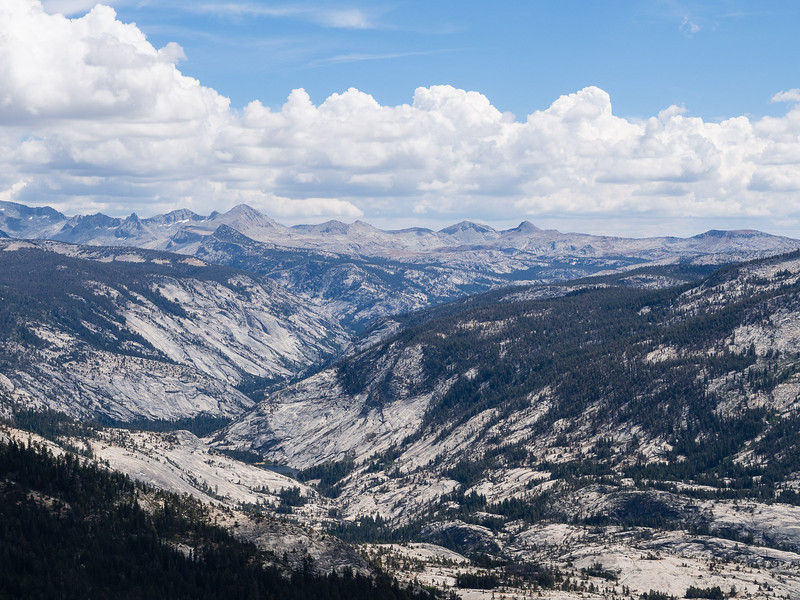 Little Yosemite Valley and east