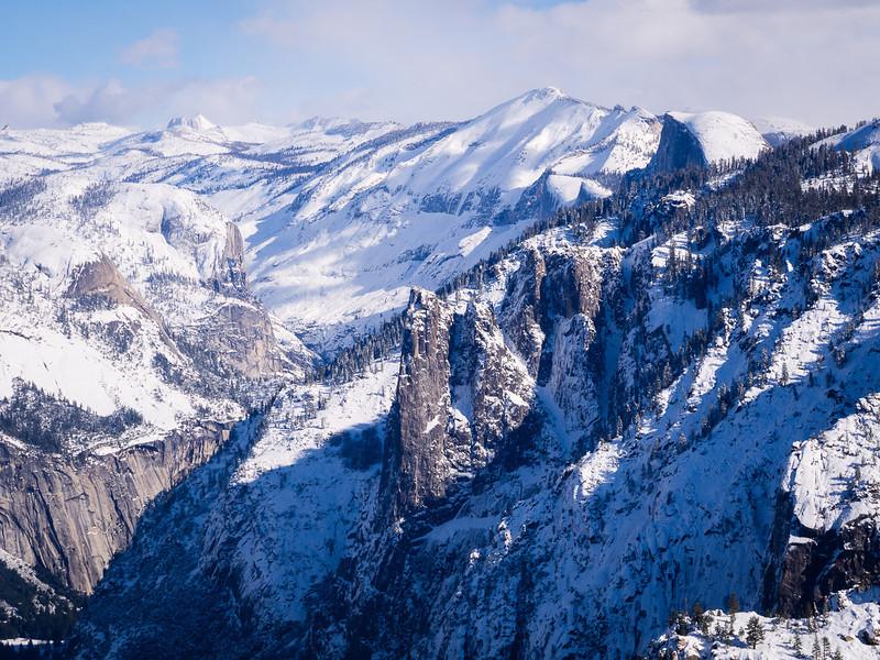 Upper Yosemite in winter