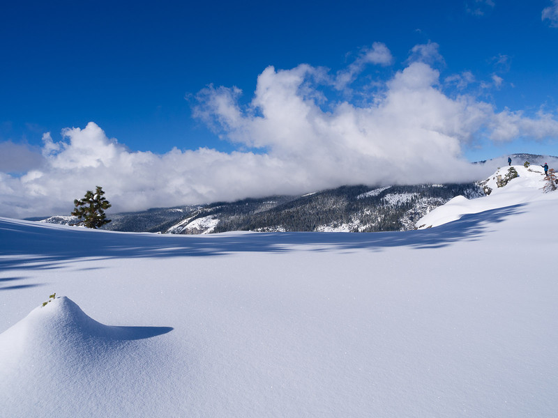 Smooth snow
