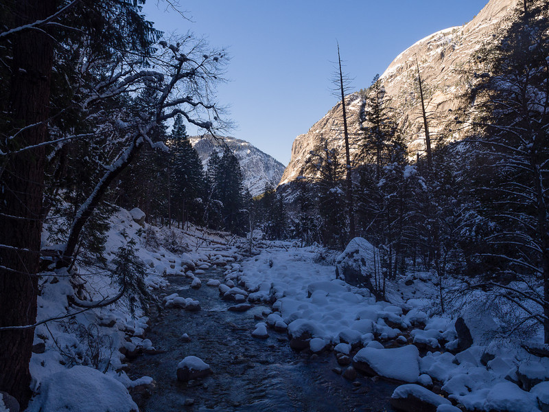 Crossing Tenaya Creek