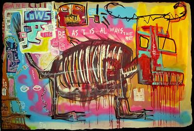 29 - l'animal (BEAST) - 150x100cm