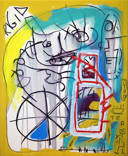 50 - Pollock - 70x50cm