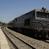 An unidentified 3xxx series loco heads a southbound service approximately 10km south of Esna, Egypt 05/06/12