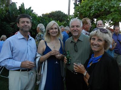 Randall Meadors, Robin Gary, Paul and Gail Carruthers.