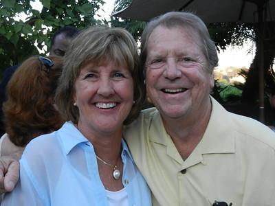 Sandi Doell and Dr. Michael Adams.