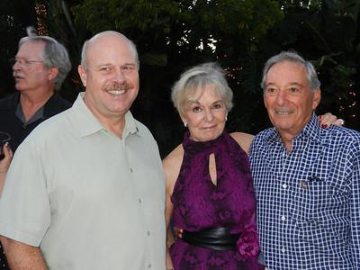 Tom Jeffry, Barbara and Hal Matles.