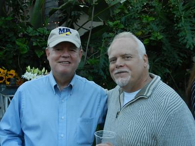 Richard Farrell and Paul Allman having a great time.