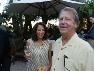 Kathleen and Dr. Michael Adams.