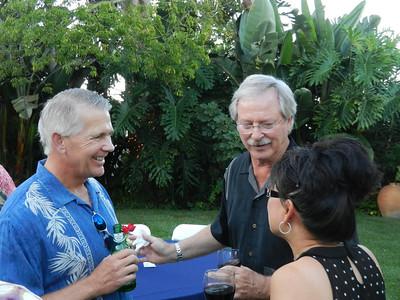 John Acker, Bob Stephenson, and Leslie.