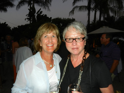 Sandi Doell and Donna Ennis.