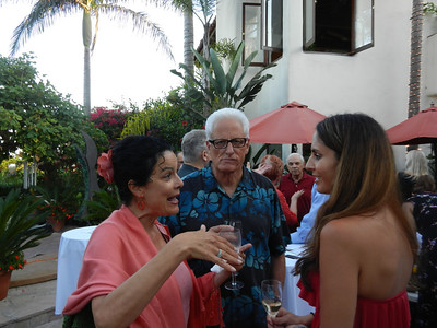Gina and Joel Ruben in conversation Lisa Hemmat.