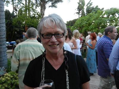 Donna Ennis smiles for her husband.