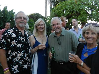 Donn Ennis, Robin Gary, Paul and Gail Carruthers.