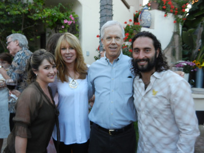 Brittany Caprell, Susan Sweet, Bill Bloomfield and James Caprell pause for a picture.