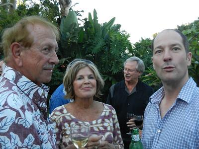 John and Karen Russo, Bob Stephenson and Roger Cox.