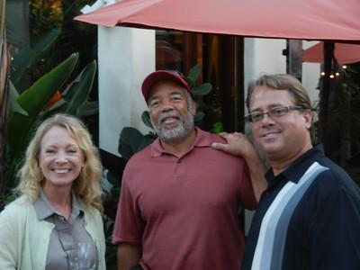 Tammy Lipps, Wade Austin and Mark Lipps.