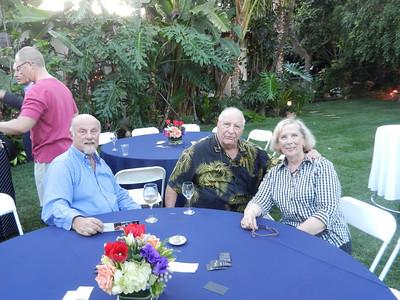 Chris Ullman, Richard and Miriam Ackerman taking a break.