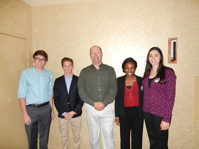 3-4-13 Model UN at Rotary Meeting