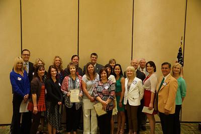 2013 Teachers of the Year for Manhattan Beach.
