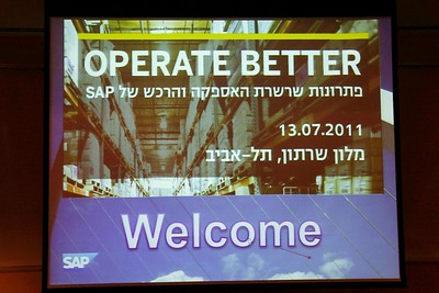 SAP Operate Better 13.7.2011
