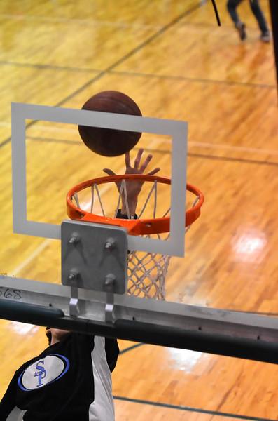SP v Chelsea Varsity Boys Basketball Area Tourn 2-8-13