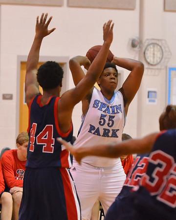 SP v Oak Mtn JV Boys Basketball 1-11-13