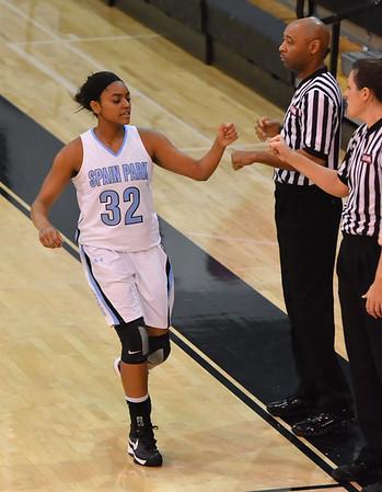 SP v Oak Mtn Varsity Girls Basketball 1-11-13