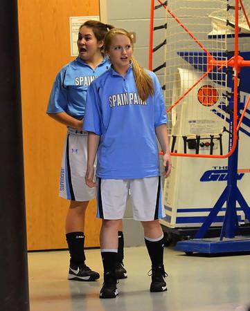 Senior Night Girls Varsity Basketball 1-25-13