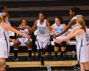 Spain Park v Chelsea Girls Basketball 1-8-13