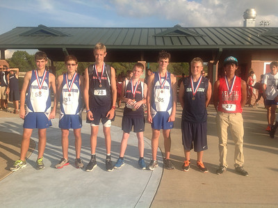 Freshmen Boys Top Ten