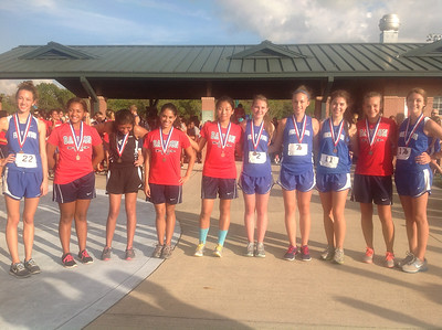 JV Girls Top Ten