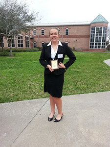 1st Place Event: Outstanding HOSA Chapter (Scrapbook) Student: Sarah Sutherland